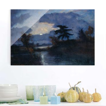 Quadro in vetro - Otto Modersohn - Moonnight in Devil's Moor - Orizzontale 3:2