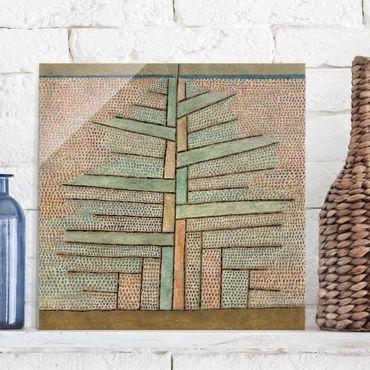 Quadro in vetro - Paul Klee - Pino - Espressionismo - Quadrato 1:1