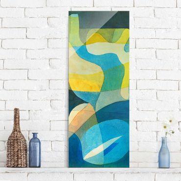 Quadro in vetro - Paul Klee - Propagazione della Luce - Espressionismo - Pannello