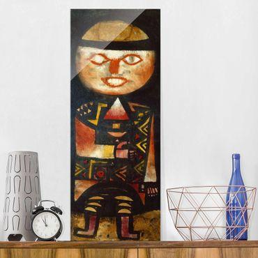 Quadro in vetro - Paul Klee - Actor - Espressionismo - Pannello