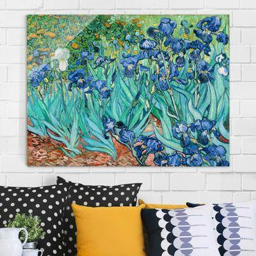 Quadro su vetro - Vincent van Gogh - Iris - Post-Impressionismo - Orizzontale 4:3