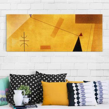 Quadro in vetro - Wassily Kandinsky - Fuori di Massa - Espressionismo - Panoramico