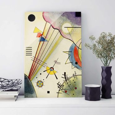 Quadro in vetro - Wassily Kandinsky - Distinto Connection - Espressionismo - Verticale 2:3