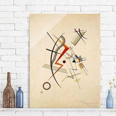 Quadro in vetro - Wassily Kandinsky - Dono annuale alla società Kandinsky - Espressionismo - Verticale 3:4