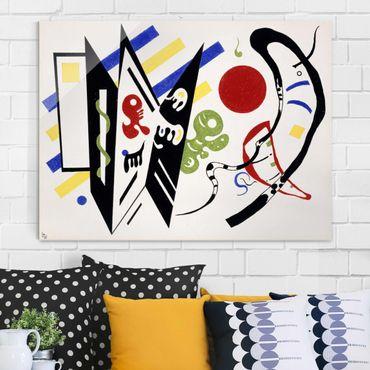 Quadro su vetro - Wassily Kandinsky - Reciproque - Espressionismo - Orizzontale 4:3