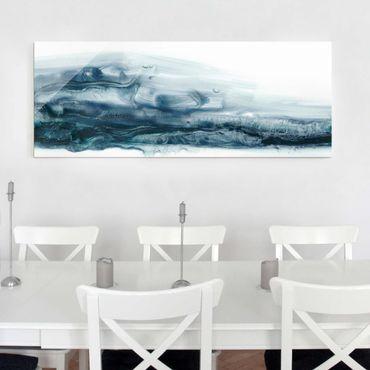 Quadro in vetro - Corrente Ocean Ii - Panoramico