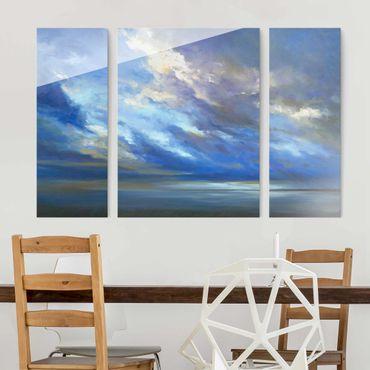 Quadro in vetro - Costa Dark Sky - 3 parti