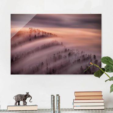 Quadro in vetro - Nebbia Flood - Orizzontale 3:2