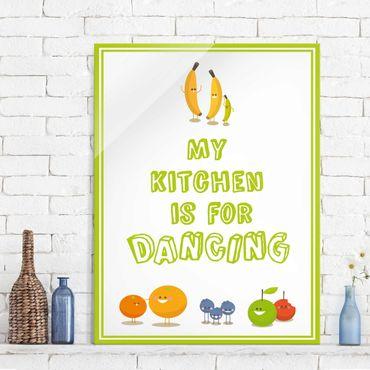 Quadro in vetro - No.EV83 My Kitchen - Verticale 3:4