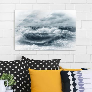 Quadro in vetro - No.YK6 Lively North Sea - Orizzontale 3:2