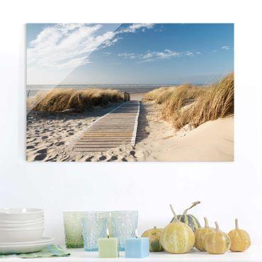 Quadro in vetro - Baltic beach - Orizzontale 3:2