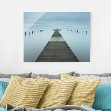 Quadro in vetro - Pier In Svezia - Large 3:4