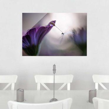 Quadro in vetro - Purple Rain - Orizzontale 3:2