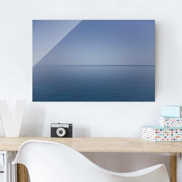 Quadro in vetro - Calm ocean at dusk - Orizzontale 3:2