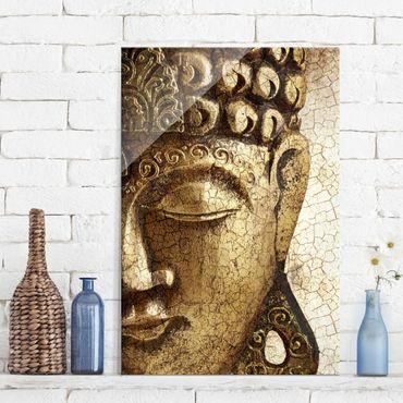 Quadro in vetro - Vintage Buddha - Verticale 2:3
