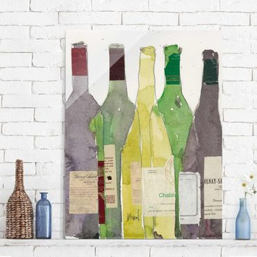 Quadro in vetro - Wine & Spirits Iii - Verticale 3:4