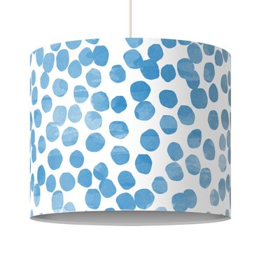 Lampadario design Dot pattern Blue Grey