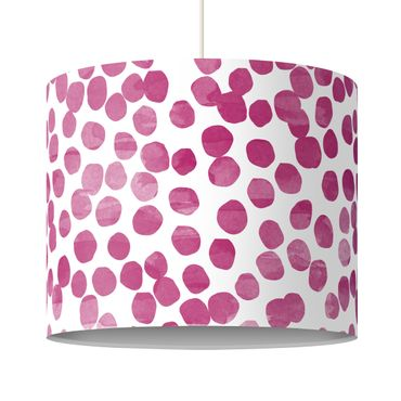 Lampadario design Dot pattern Pink Purple