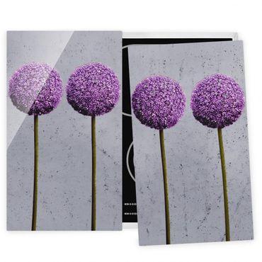 Coprifornelli in vetro - Allium Ball Flower