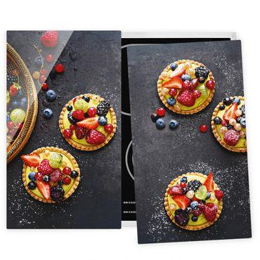Coprifornelli in vetro - Berry Dessert