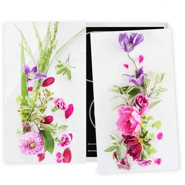 Coprifornelli in vetro - Flower Arrangement