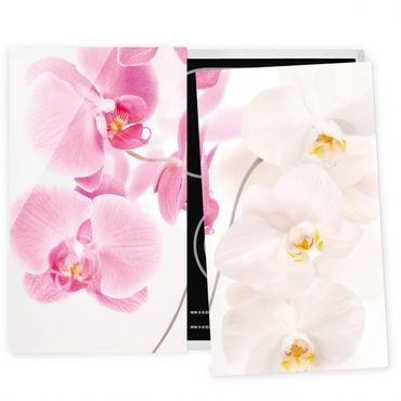 Coprifornelli in vetro - Delicate Orchids
