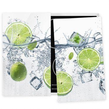 Coprifornelli in vetro - Refreshing Lime