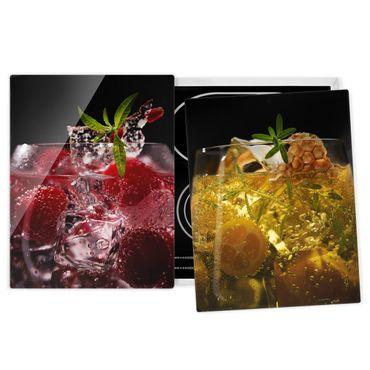 Coprifornelli in vetro - Exotic Drinks - 52x80cm