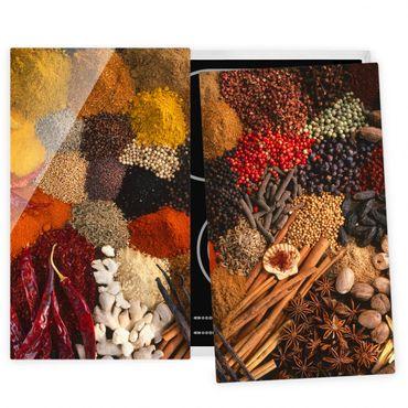 Coprifornelli in vetro - Exotic Spices