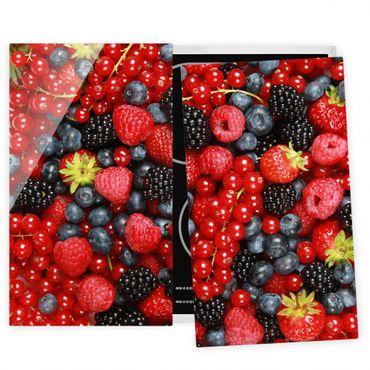 Coprifornelli in vetro - Fruity Berries