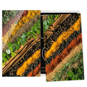 Coprifornelli in vetro - Spice Strips