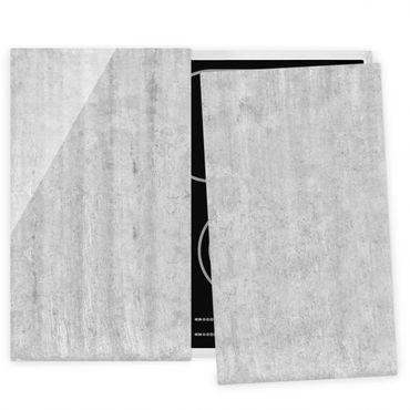 Coprifornelli in vetro - Large Loft Concrete Wall