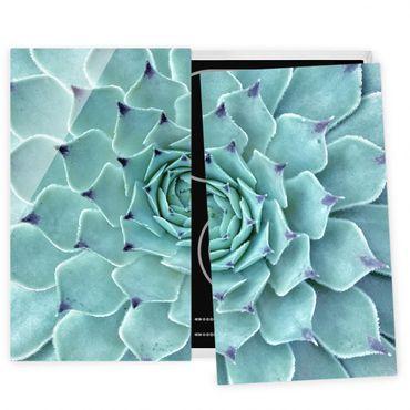 Coprifornelli in vetro - Cactus Agave