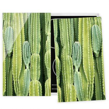 Coprifornelli in vetro - Cactus Wall