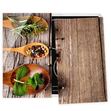Coprifornelli in vetro - Herbs And Spices