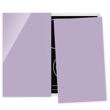 Coprifornelli in vetro - Lavender