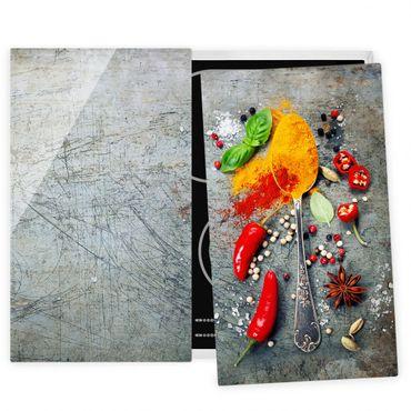 Coprifornelli in vetro - Spoons With Spices 02