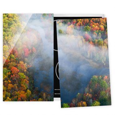 Coprifornelli in vetro - Veduta aerea - Sinfonia d'autunno
