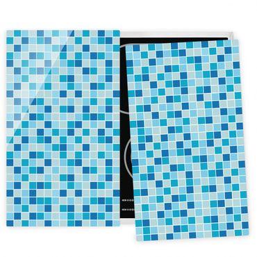 Coprifornelli in vetro - Mosaic Tiles Meeresrauschen