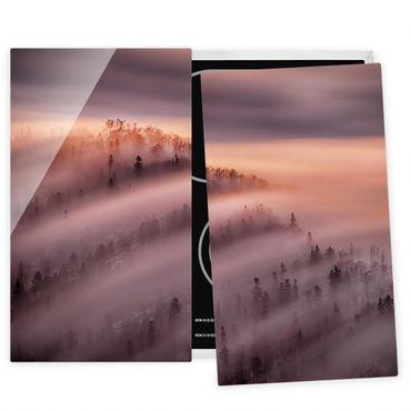 Coprifornelli in vetro - Nebbia Flood