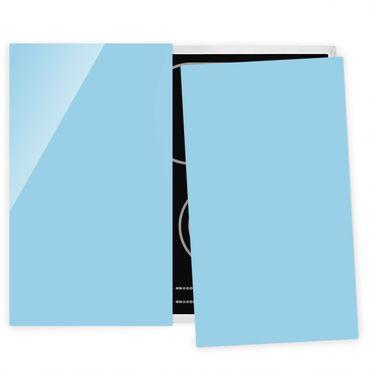 Coprifornelli in vetro - Pastel Blue