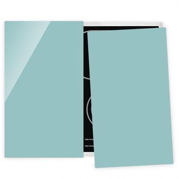 Coprifornelli in vetro - Pastel Turquoise