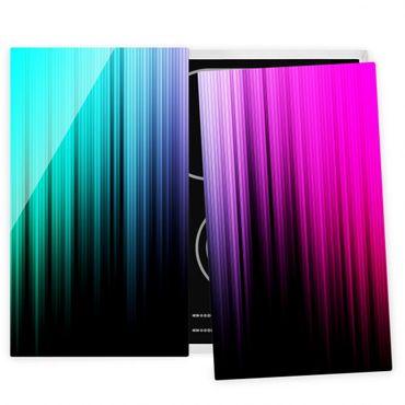 Coprifornelli in vetro - Rainbow Display