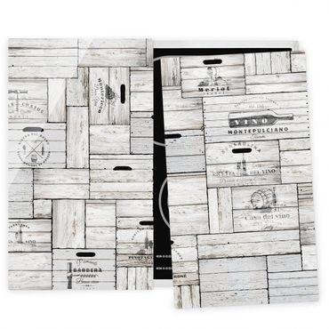 Coprifornelli in vetro - Shabby Wooden Boxes