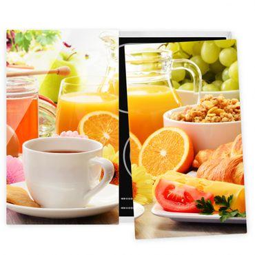 Coprifornelli in vetro - Summery Breakfast Table - 52x60cm