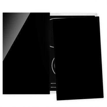 Coprifornelli in vetro - Deep Black