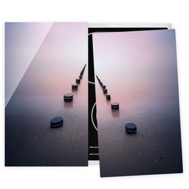 Coprifornelli in vetro - Zen On The Beach