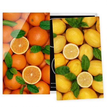 Coprifornelli in vetro - Citrus Fruits
