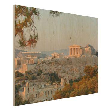 Quadro in legno - Akropolis - Orizzontale 4:3