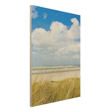 Quadro in legno - On the North Sea coast - Verticale 3:4